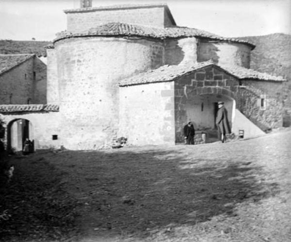 Monestir de  Sant Celdoni i Sant Ermenter - Autor Cèsar August Torras (1912)