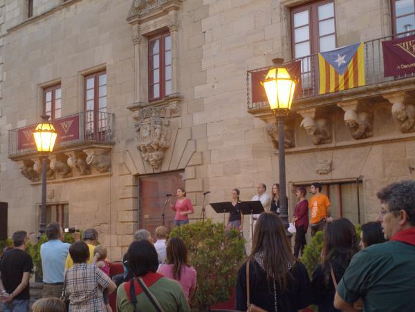 20.09.2014 El toc per la llibertat  Cervera -  Josep Gatnau Grau
