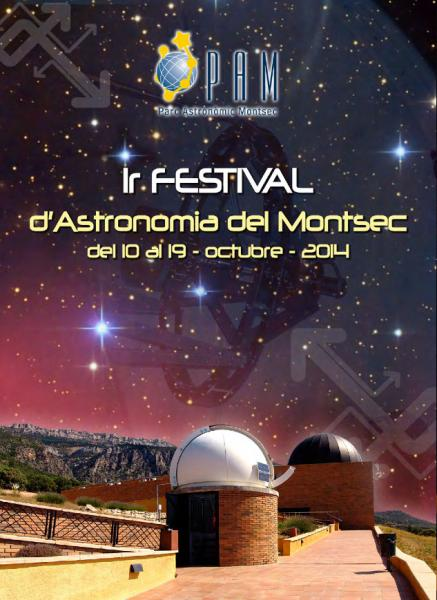 cartell 1r festival astronòmic