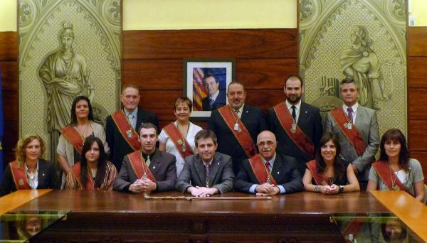 Regidors de l'Ajuntament de Solsona per al mandat 2011-2015