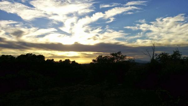 18.10.2014 posta de Sol  Sant Climenç -  Ramon Sunyer