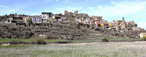 18.08.2014 Panoràmica del poble  Oliola -  Joan Caba