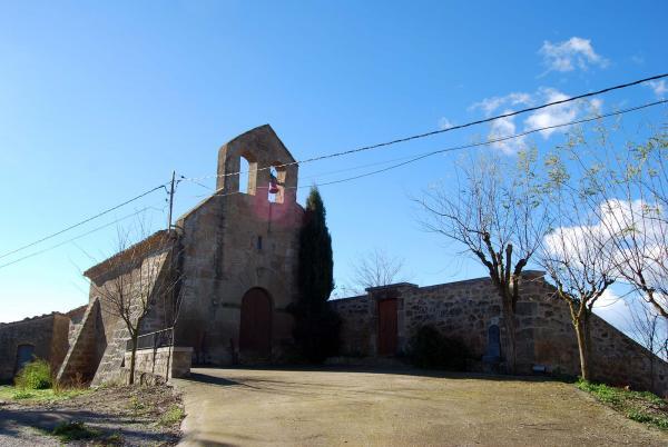 Església de  Sant Salvador - Autor Ramon Sunyer (2014)