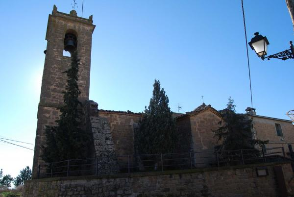 Iglesia de Sant Ponç - Autor Ramon Sunyer (2014)