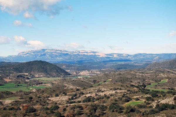30.12.2014 El Montsec  Plandogau -  Ramon Sunyer