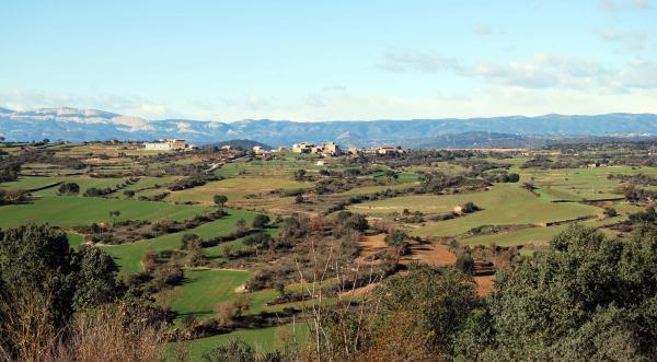 30.12.2014 Vista de Vilalta  Granollers -  Ramon Sunyer