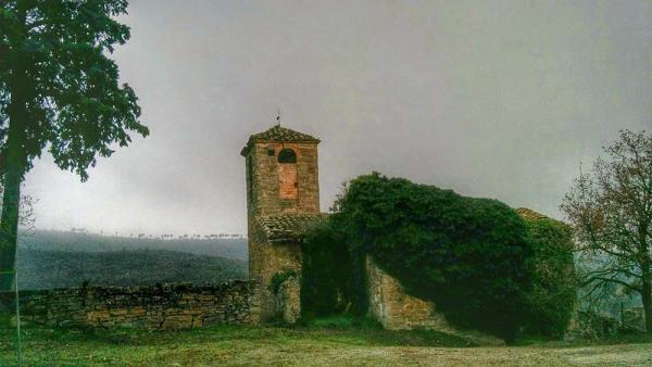 16.01.2015 Església Sant Martí romànic  Cellers -  Ramon Sunyer