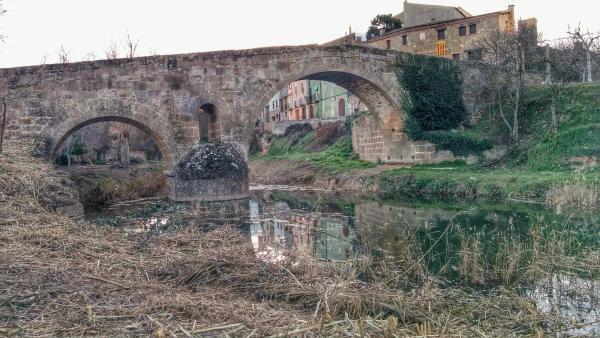01.02.2015 El pont de les Merites  Torà -  Ramon Sunyer