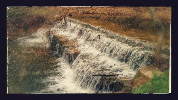 30.11.2014 La peixera dels Clots a l'ample riu Llanera  Torà -  Ramon Sunyer