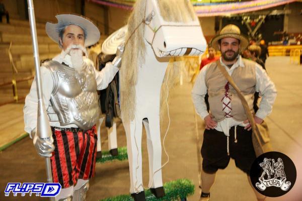 09.02.2015 El Quixot i el Sanxo  Torà -  Nit de disfresses