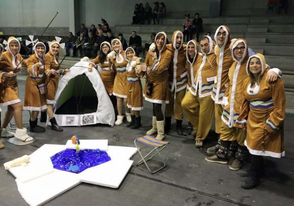 des del pol Foto: Nit de disfresses - Torà