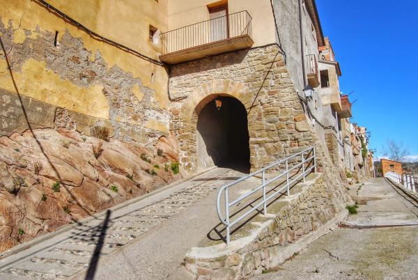22.02.2015 Portal d'accés  Vilanova de l'Aguda -  Ramon Sunyer