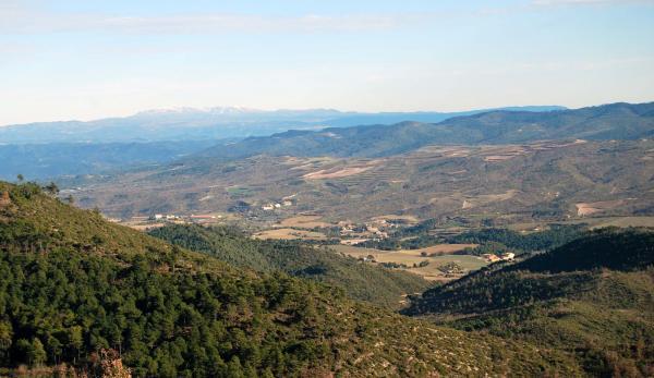 26.01.2015 vista general  Vallmanya -  Ramon Sunyer