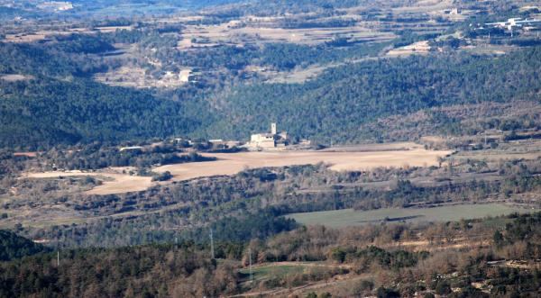 26.01.2015 vista general  Sant Just d'Ardèvol -  Ramon Sunyer