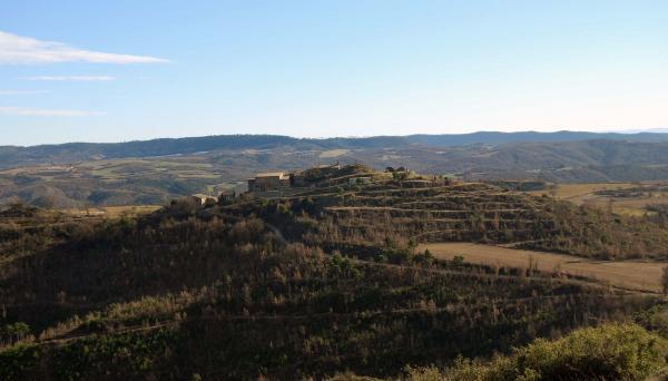 26.01.2015 Vista del nucli  Pinós -  Ramon Sunyer