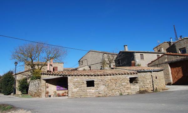 26.01.2015 cases  Prades de la Molsosa -  Ramon Sunyer