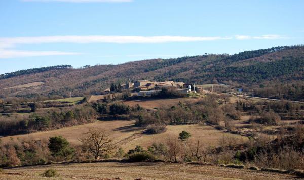 26.01.2015 Vista general  Prades de la Molsosa -  Ramon Sunyer