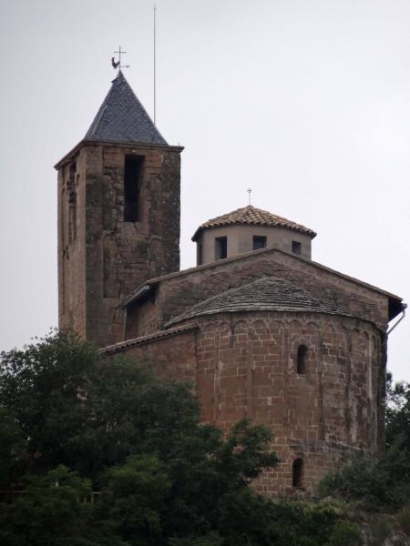 07.08.2013 Església de Sant Tirs  Oliola -  Jordi Ferrer