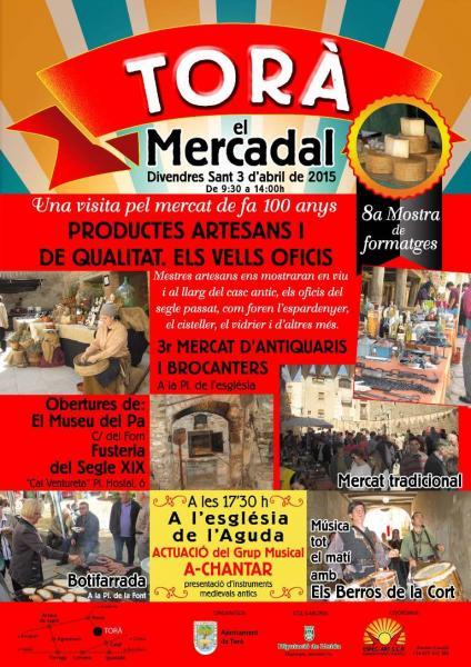 cartell Mercadal de Torà 2015