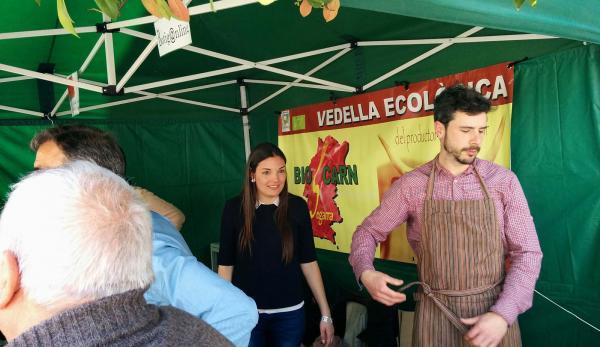 03.04.2015 vedella ecològica  Torà -  Ramon Sunyer