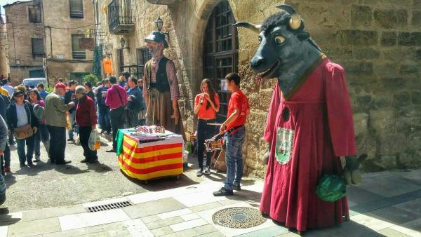 03.04.2015 parada del Brut i la Bruta  Torà -  Ramon Sunyer