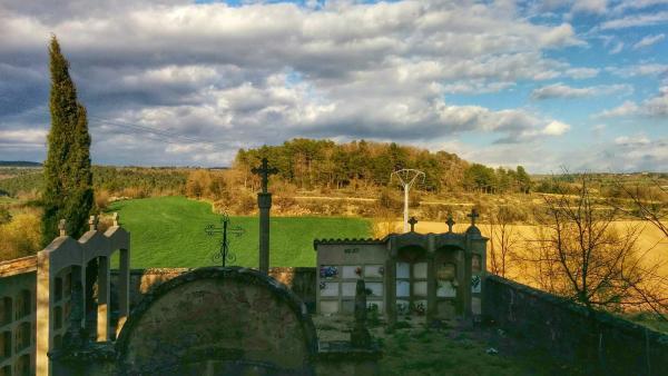 05.04.2015 cementiri  Sant Just d'Ardèvol -  Ramon Sunyer