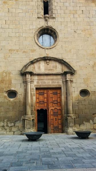 08.02.2015 Santa Maria de la Plaça  Sanaüja -  Ramon Sunyer