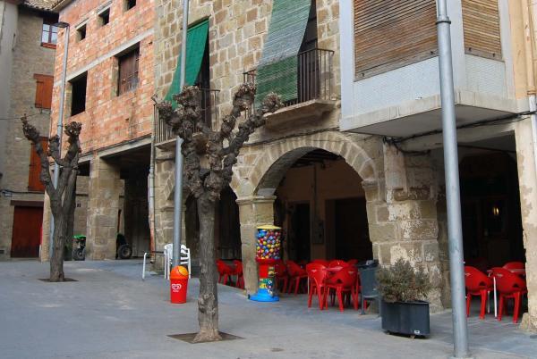 08.02.2015 Plaça Major  Sanaüja -  Ramon Sunyer
