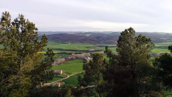 06.04.2015 Vista de la vall  L'Aguda -  Ramon Sunyer
