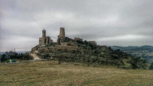 Castle of  Lloberola - Author Ramon Sunyer (2015)