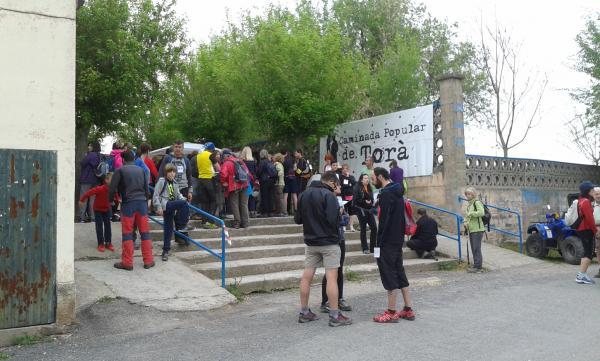28.04.2015 Sortida caminada  Torà -  Sònia