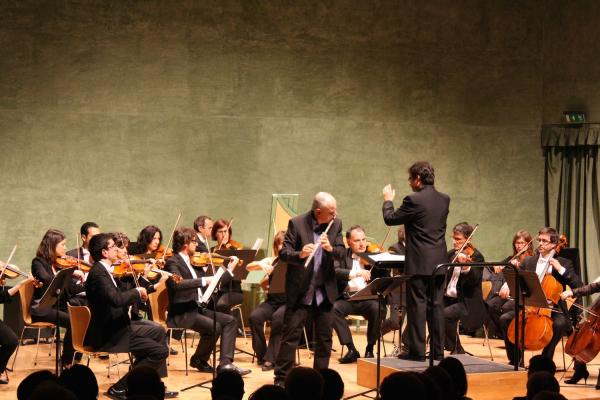 cartell Actuació Orquestra Simfònica Julià Carbonell