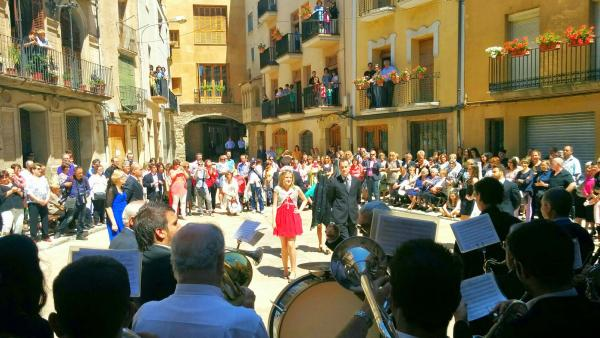 Dansa dels priors i priores del Roser Foto: Ramon Sunyer - Torà