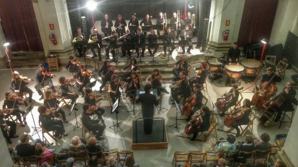 Orquestra Simfònica Julià Carbonell Foto: Ramon Sunyer - Torà