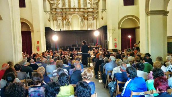 l convent es va omplir per escoltar la Julià Carbonell Foto: Ramon Sunyer - Torà