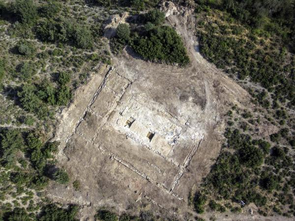 08.08.2014 Jaciment romà de Puig_Castellar  Biosca -  UOC