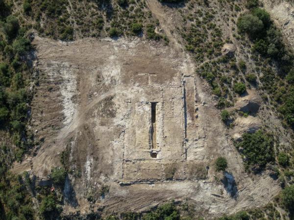 Jaciment romà de Puig Castellar - Autor UOC (2014)