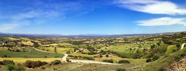 10.05.2015 Panoràmica de la Vall  Palou -  Ramon Sunyer
