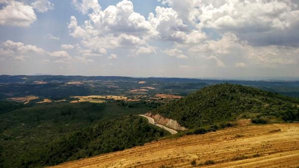 31.05.2015 Vista de Pinós  Pinós -  Ramon Sunyer