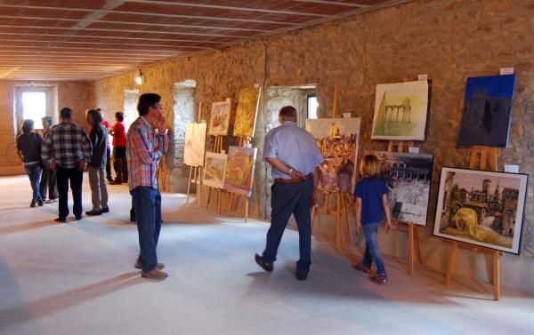 31.05.2015 exposició pintura ràpida  Pinós -  Ramon Sunyer