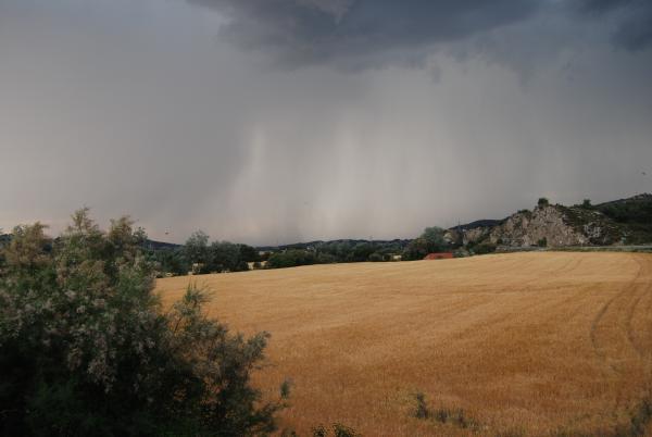 31.05.2015 la tempesta s'atansa  Torà -  Ramon Sunyer