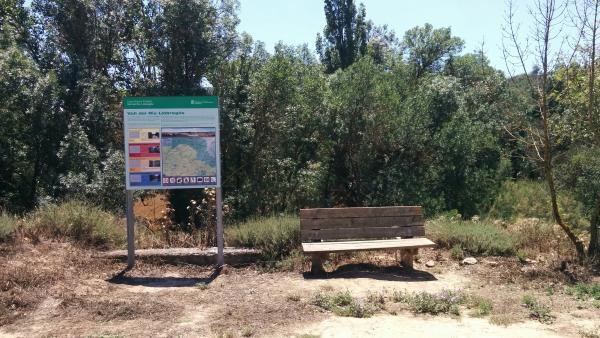 21.06.2015 Panell informatiu de rutes de la Vall  Sanaüja -  Ramon Sunyer
