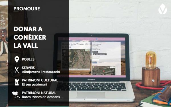 El portal de turisme Vall del Llobregós presenta  informació àmplia de les poblacions Foto: Vall del Llobregòs - Torà