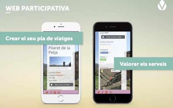 El portal de turisme Vall del Llobregós és de tipus participatiu Foto: Vall del Llobregòs - Torà