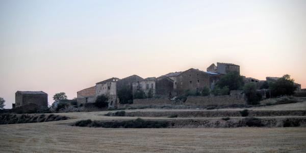 11.07.2015 vista del poble  Maravella -  Ramon Sunyer