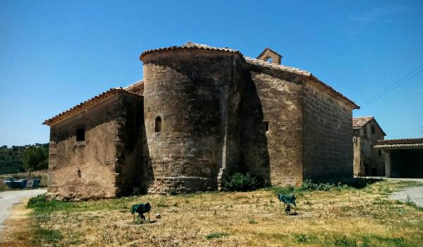 19.07.2015 Ermita de sant Pelegrí  Biosca -  Ramon Sunyer