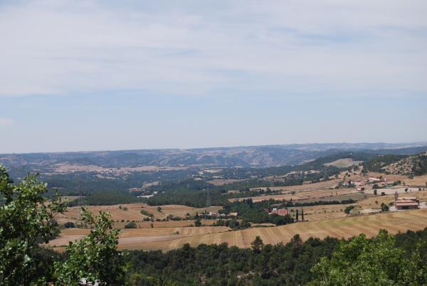 26.07.2015 Paisatge  La Molsosa -  Ramon Sunyer