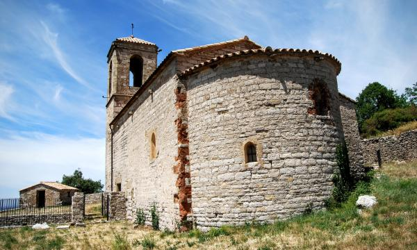 Església de  Santa Maria Vella - Autor Ramon Sunyer (2015)