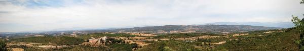 26.07.2015 Panoràmica nord  La Molsosa -  Ramon Sunyer