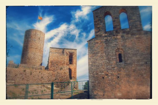 26.07.2015 Castell i església  Boixadors -  Ramon Sunyer